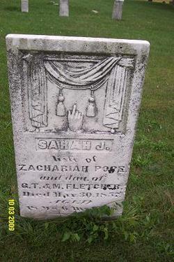 Sarah J. <i>Fletcher</i> Pope