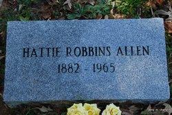 Hattie <i>Robbins</i> Allen
