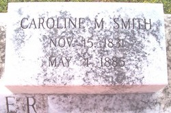Caroline M. <i>Smith</i> Dasher
