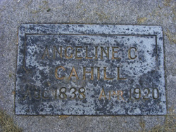 Angeline C <i>Church</i> Cahill