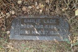 Ernestine Emilia Caroline Emilie <i>Wolff</i> Lade