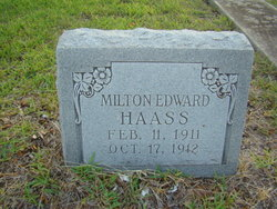Milton Edward Haass