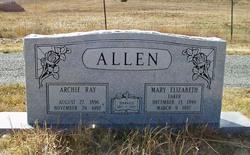 Archie Ray Allen