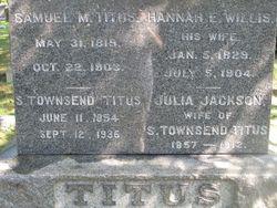 Julia <i>Jackson</i> Titus