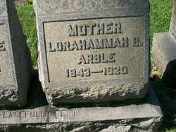 Lorahammah B. <i>Bowers</i> Arble