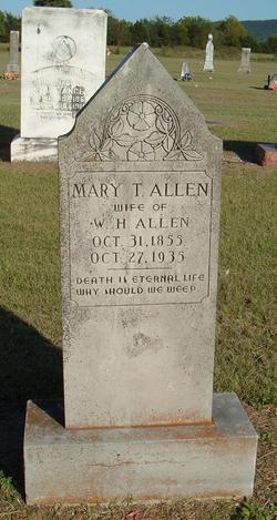 Mary Teressa <i>Gardner</i> Allen