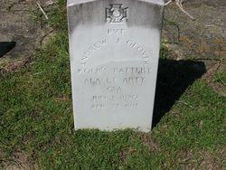 Pvt Andrew Jackson Glover