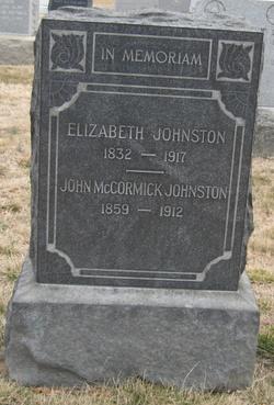 Elizabeth <i>McCormick</i> Johnston
