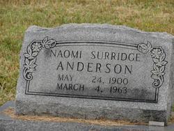 Naomi <i>Surridge</i> Anderson