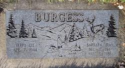 Barbara Jean <i>Jones</i> Burgess