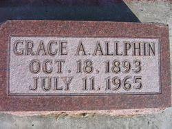 Grace Elizabeth <i>Alexander</i> Allphin