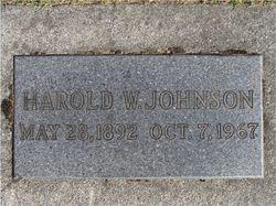 Harold Waldemar Johnson