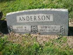 Annie Mary <i>Schultz</i> Anderson