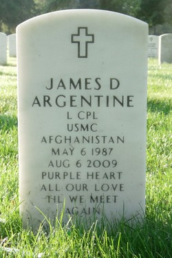 LCpl James D. Argentine