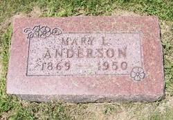 Mary Louisa Missouri <i>Yeakley</i> Anderson