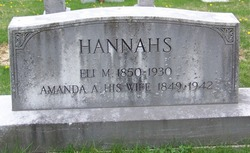 Amanda Ann <i>Stephens</i> Hannahs
