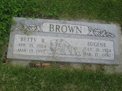 Betty Jean <i>Burton</i> Brown