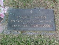 Zaddie Marie <i>Branstetter</i> Aston