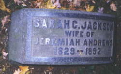 Sarah Clark <i>Jackson</i> Andrews