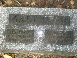 Almary E <i>Roberts</i> Anderson