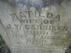 Matilda Ann <i>Segler</i> Carriker
