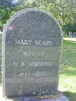 Mary <i>Sears</i> Simpkins
