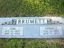 Vadah Elizabeth <i>Brown</i> Brumett