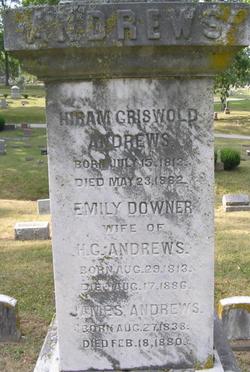 Emily <i>Downer</i> Andrews