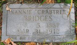 Nannie <i>Crabtree</i> Bridges