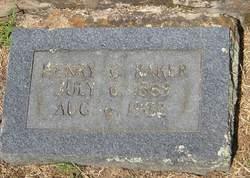 Henry Carter Baker