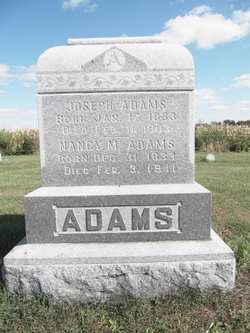 Nancy M. <i>Widick</i> Adams