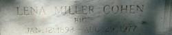Lena <i>Miller</i> Cohen
