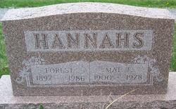 Mae F <i>Carpenter</i> Hannahs