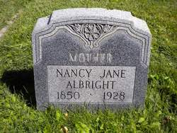 Nancy Jane <i>Stewart</i> Albright