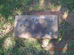 H A Caldwell