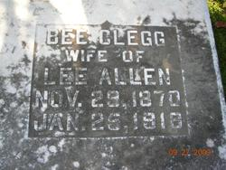 Bee <i>Clegg</i> Allen