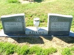 Homer C Adams