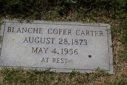 Martha Blanche <i>Cofer</i> Carter