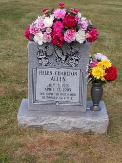 Helen Lavenia <i>Charlton</i> Allen