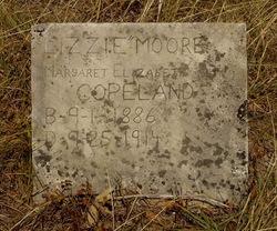 Margaret Elizabeth Lizzie <i>Moore</i> Copeland