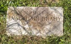 Emma <i>Hart</i> Brady