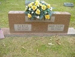 Mary <i>Payne</i> Baker