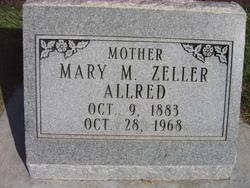 Mary Magdelina <i>Zeller</i> Allred