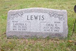 Oral Elmer Lewis