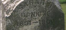 Sarah Jane <i>Edgar</i> Banning