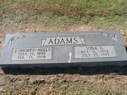 Vina Caroline <i>Bugg</i> Adams
