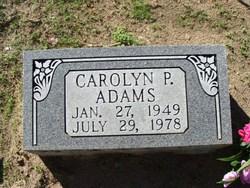 Carolyn Pearl Adams