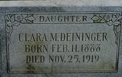 Clara M. Deininger