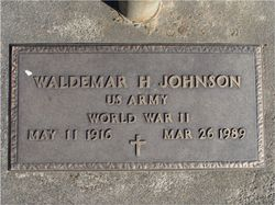 Waldemar H Johnson