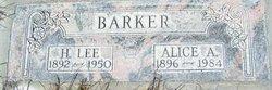 Alice A Barker
